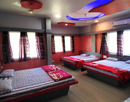 6 Bed Non-AC Room